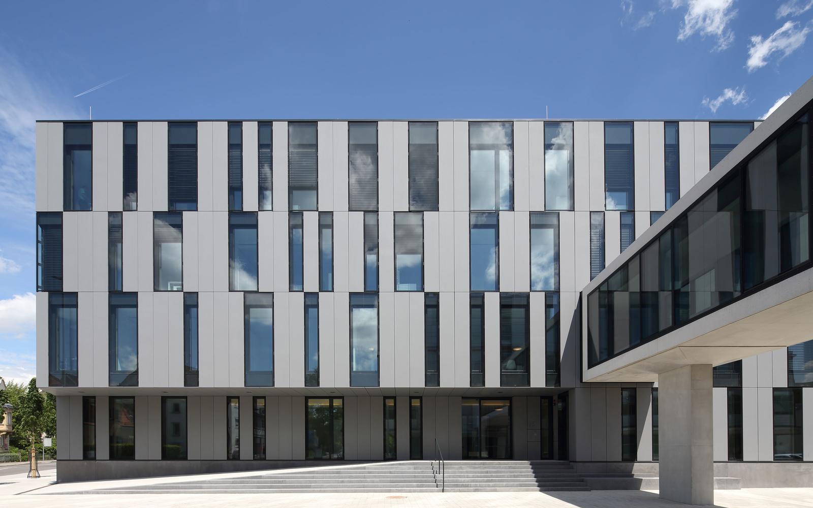 Architekten Ulm braunger wörtz architekten ulm 158 neubau verwaltungsgebäude der
