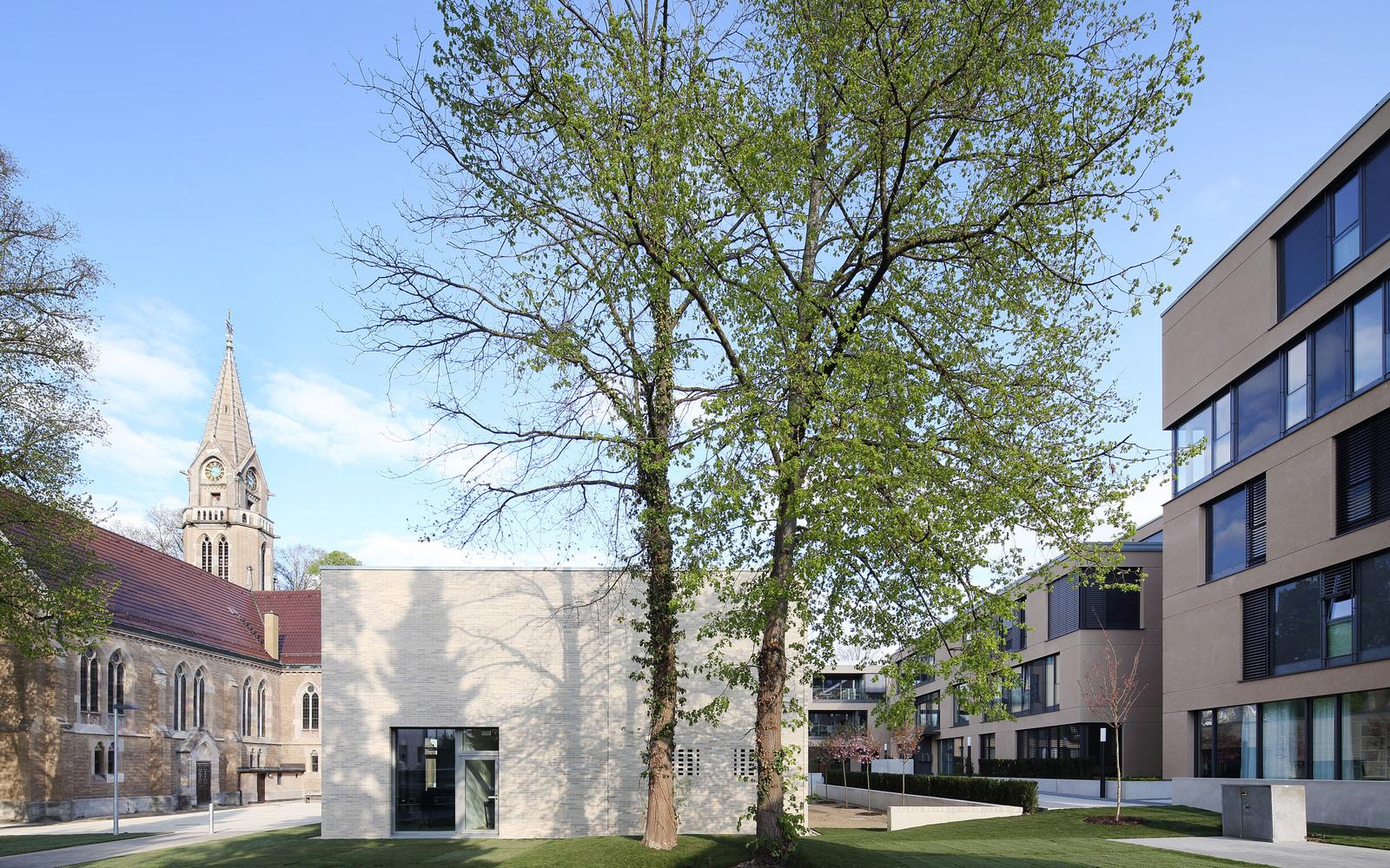 braunger w rtz architekten ulm 140 neubau gemeindehaus. Black Bedroom Furniture Sets. Home Design Ideas